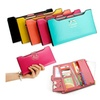 New Fashion Lady Women Leather Clutch Wallet Long Card Holder Case