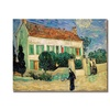 Vincent Van Gogh White House at Night Canvas Print