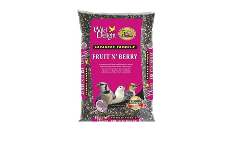 D Commodities Wild Delight Fruit & Berry Wild Bird Food 20 Pound (Goods For The Home Patio & Garden Bird Feeders & Food) photo
