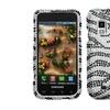 Insten Black Zebra Bling Case for SAMSUNG i500 Fascinate Mesmerize