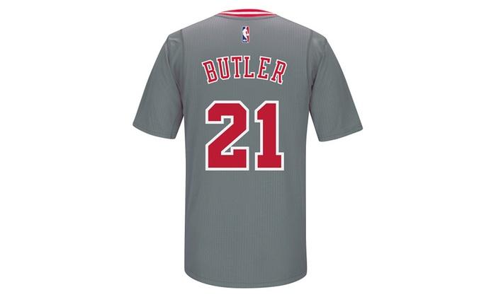 new product 425dd 00438 Jimmy Butler Chicago Bulls Swingman Gray Jersey