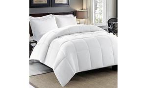 Hotel Grand 300 Thread-Count Sateen Cotton Down Alternative Comforter