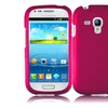 Insten For Samsung Galaxy S III S3 Mini I8190 Rubberized Case Hot Pink