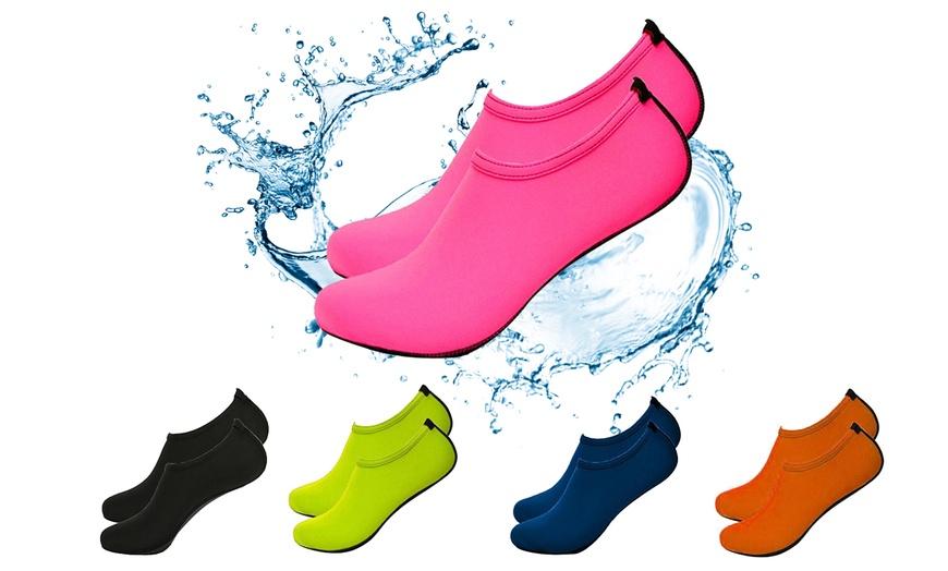 Water Shoes Barefoot Skin Socks Quick-Dry Aqua Beach Sport Vacat Water Swim G5O6