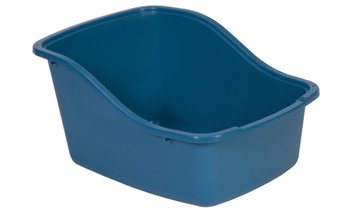 Hi-Back Litter Pan with Microban
