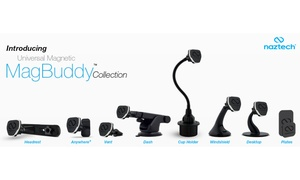 Naztech MagBuddy Car Smartphone Mounts