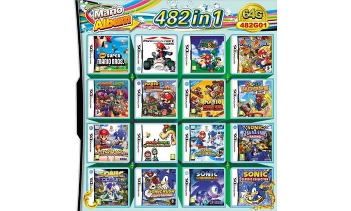 482 in 1 Game Cartridge Multicart for Nintendo DS
