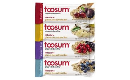 Toosum 3-5174 Vegan Oatmeal Bars, Case of 20