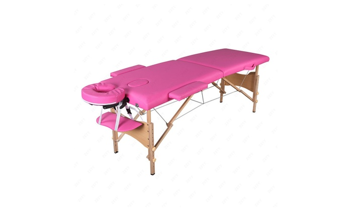 84l portable pink fold massage table facial spa beauty