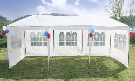 10'x30' Outdoor Gazebo Canopy Wedding Party Tent w/ Removable 5/8 Walls Was: $125.00 Now: $83.99