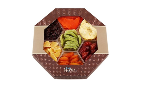 Assortment Dried Fruits Basket (7 Section) ce68759e-fc09-4936-afc8-ec07765c16cc