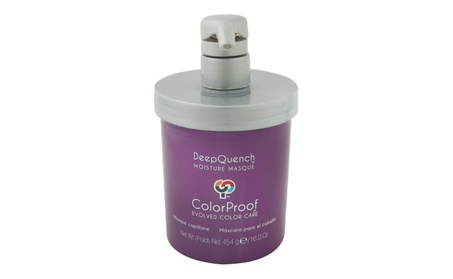 DeepQuench Moisture Masque by ColorProof for Unisex - 16 oz Masque 63735a23-6a59-4427-8524-e700402f7542