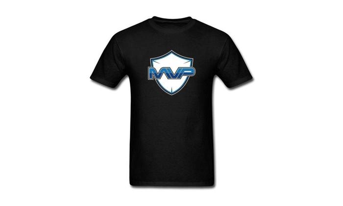 SILFA Outlet: XIULUAN Men's MVP Logo T-shirt
