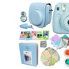 FujiFilm Instax Mini 8 Camera Set BLUE