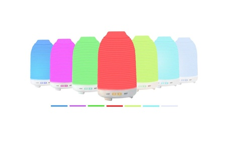 Aroma Humidifier with 7 Color Changing LED Lamps - 120ml bb96ac0e-dce9-4e04-86bd-fba013bf2c17
