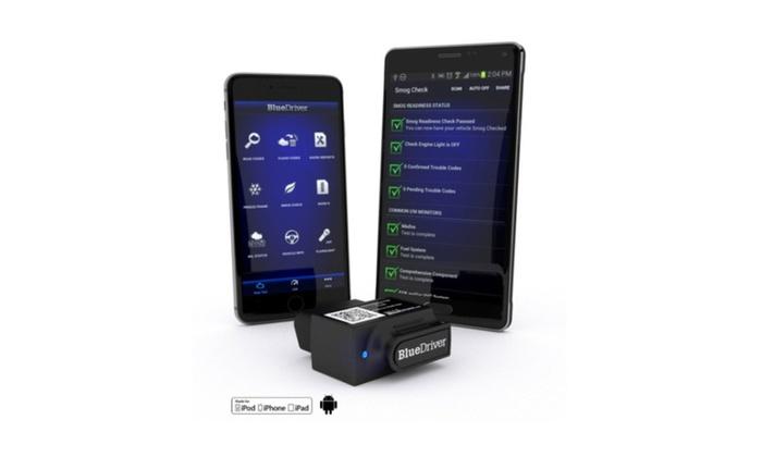 BlueDriver Bluetooth Professional OBDII Scan
