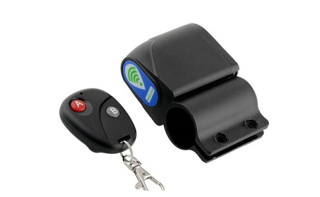 New Cycling Security Lock Vibration Alarm Anti-theft Remote Control 18fc2991-3b6c-49ba-b0e6-8d6edbb1a5f2