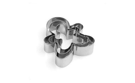 3Pcs Set Stainless Steel Baking Cutter Cake Cookie Mold Human Shape ad12eae1-a50c-412a-b929-83c16afb16b7