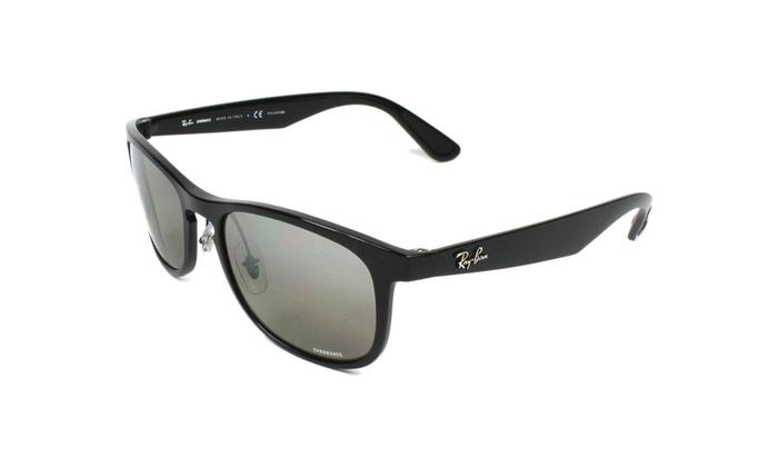 0e0b68c462b ... sunglasses konga nigeria c72dc 4e9e5 discount ray ban rb4263 601 5j 55  black silver mirror chromance polarized b4ff2 88ff9 ...
