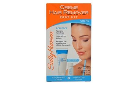 Sally Hansen Cream Hair Remover Kit, Mess-Free Lotion Formula
