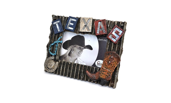 Up To 54% Off on 4x6 Western Texas Cowgirl Pic... | Groupon Goods