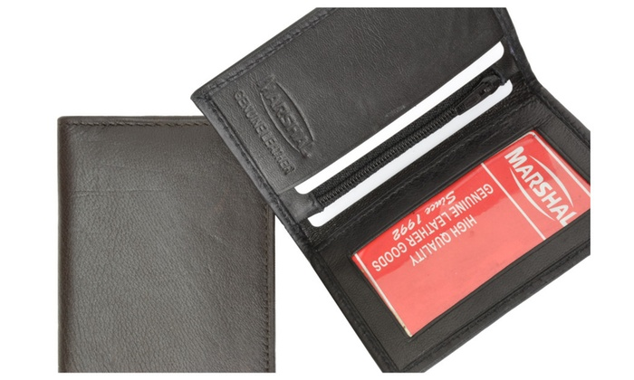 Small Credit Card Holder with ID Window