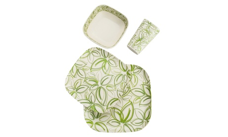 Dishwasher Safe - Bamboo Fiber Eco Friendly Dinnerware Set c94363cd-5709-44a3-9903-8dcbaf930f4b