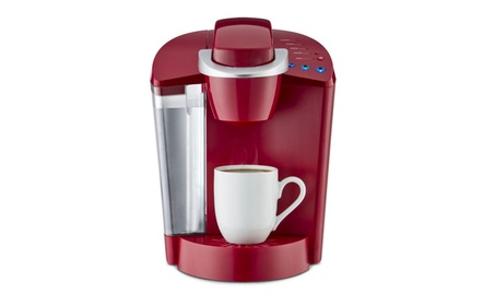 Red Single Serve Coffee Maker Coffee Brewer photo