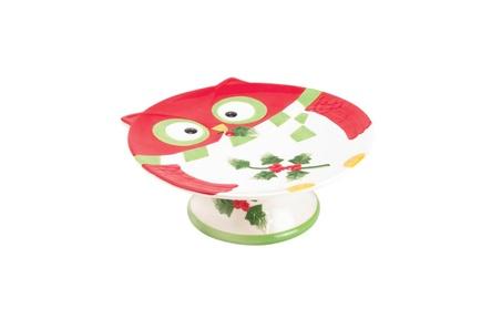 Holiday Hoot Cake Stand 76ddd50a-25d5-40fe-b293-d85d9c7a10c8
