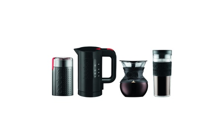 Bodum K11592-01US Pour Over Set, Black 2357f917-a069-41d3-a580-234a1ecd7842