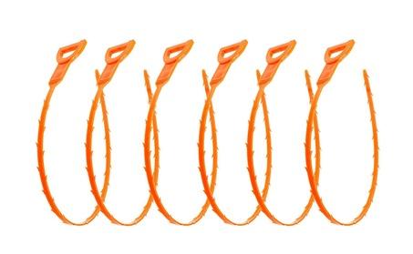 6pcs Drain / Hair Removal Tool Drain Dredge Pipe Sewer Cleaner Hook 638295e8-614d-4399-8d4c-2930836e2e94