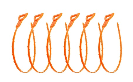 Drain Snake for Clog Remover Tube Drain Cleaning, 6Pcs bf0a7f48-176b-4338-8cca-6666ac613645