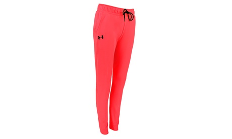 Under Armour Women's UA Hot Pink Tech Fleece Pants d5256d07-58c4-4a89-aeac-647e6c1d5e46