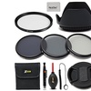 55mm Lens Accessories Kit with 55mm ND Filters Kit plus More NEW