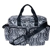 Trend Lab Diaper Bag - Midnight Fleur Damask Deluxe Duffle