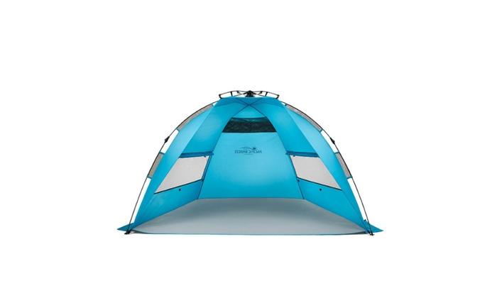 Pop Up Portable Cabana Beach Canopy Shelter Infant Sand Tent