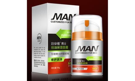 BIOAQUA Men's Moisturizing Face Cream Сlean Cool Skin Oil Control 50g