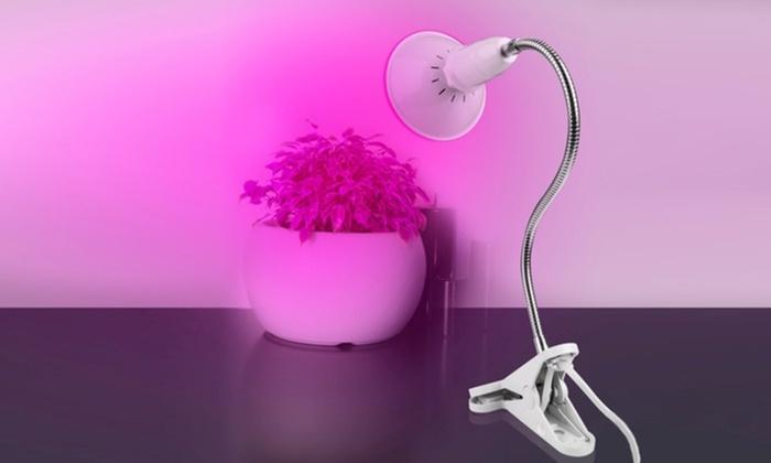 360 Degree Gooseneck Clip On Led Plant Grow Light