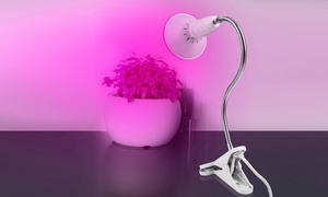 360-Degree Gooseneck Clip-On LED Plant Grow Light