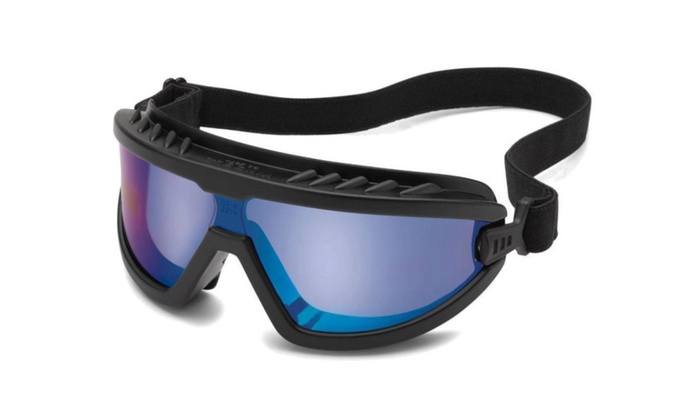 Goggles Glasses Lightweight Compact Gateway Wheelz Blue Mirror Safety