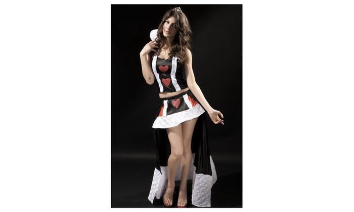 Women's Enchanting Queen of Hearts Costume