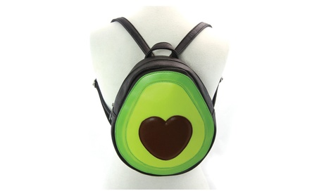 Sleepyville Critters Avacado Heart Mini Backpack Purse (Goods Women's Fashion Accessories Handbags) photo