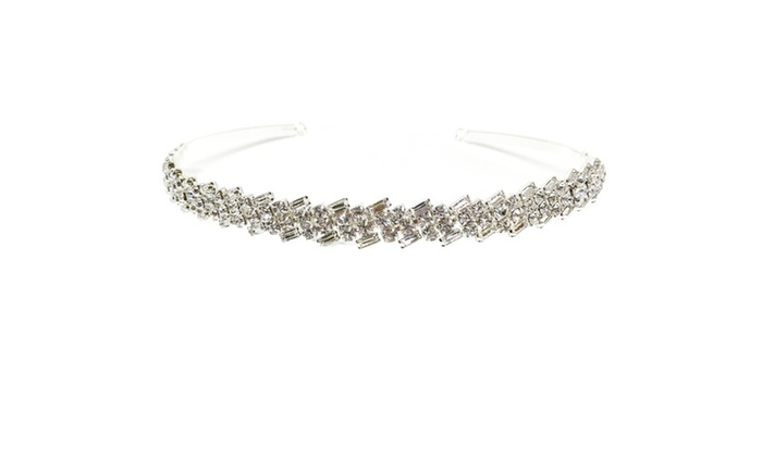Daffany Rhinestone Tiara by Kate Marie