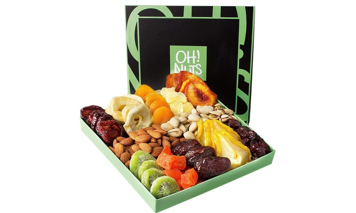 Best Christmas Food Gifts.Holiday Nut Dried Fruit Gift Basket Healthy Gourmet Christmas Food Gifts
