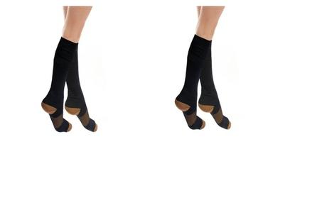 3, 5 or 10 Pack of Swelling Copper Compression Socks 1f94fb84-6edd-4c8f-a1a6-157d1c700067