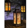 Floral and Birds Solar Lanterns (3-Pack)