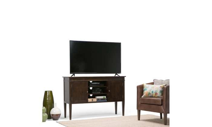 Carlton 54 X 17 5 X 36 Inch Tall Tv Stand Groupon