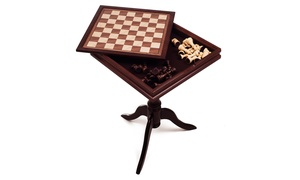 Deluxe Chess & Backgammon Table by Trademark Games