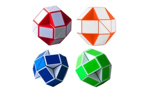 Magic Changeable Twisting Snake Cube Puzzle (1-, 2-, or 4-Pack)