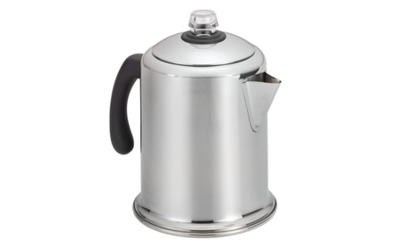 Farberware Classic Stainless Steel Yosemite 8-Cup Coffee Percolator a408a3e3-35b1-476d-8232-b4ceea06c7c8